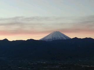 慰霊の富士